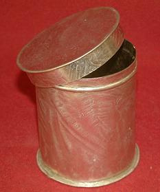 Small Lidded Can