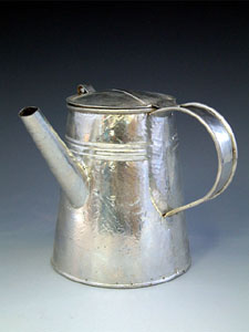 side-handled coffeepot
